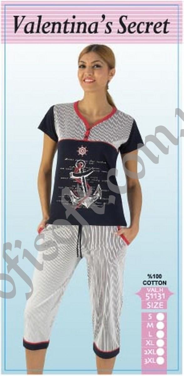 Пижама женская капри VAL.H 51131