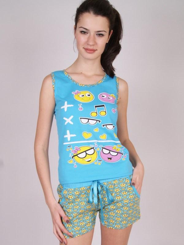 Пижама женская шорты Nicoletta 80388