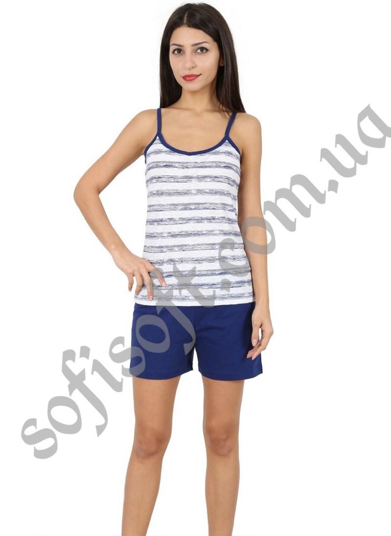Пижама женская шорты 4080214609