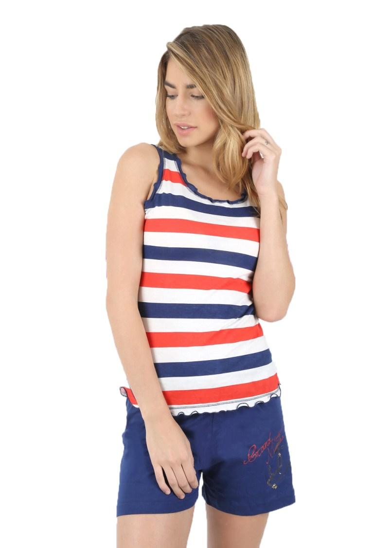 Пижама женская шорты 4082764635