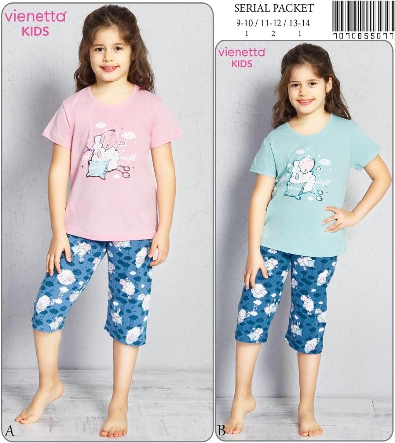 Пижама детская капри