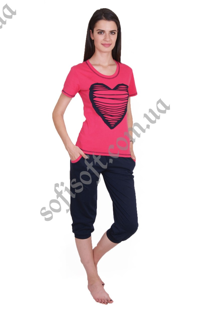 Пижама женская NIC4 82270 капри