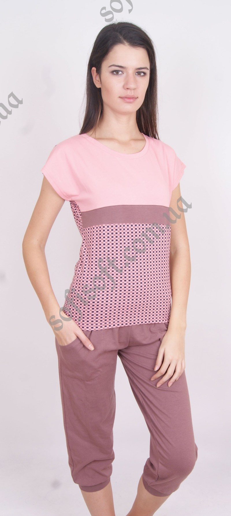 Пижама женская NIC4 82296 капри