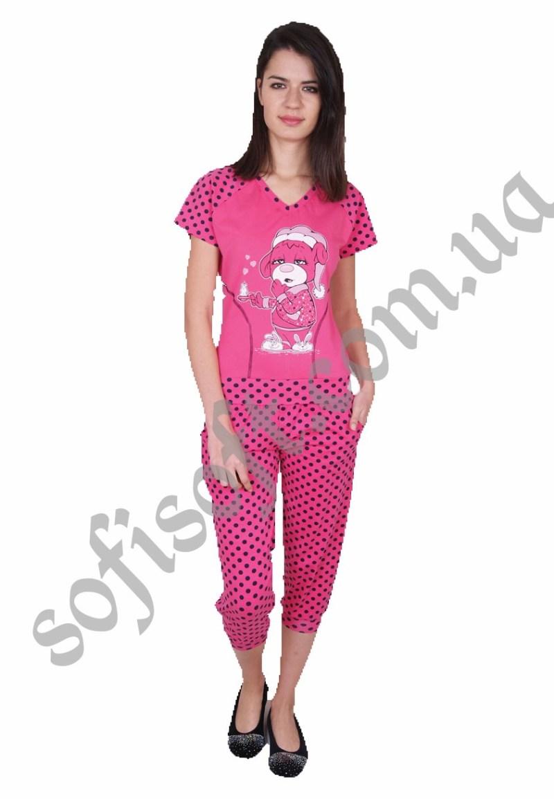 Пижама женская NIC 82301 капри