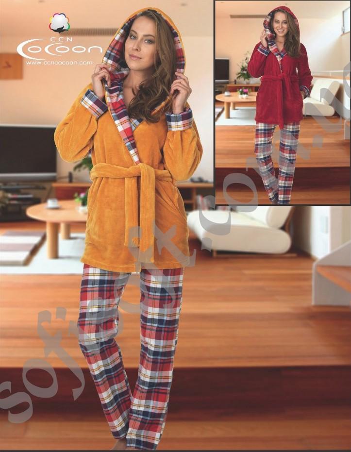 Пижама женская Cocoon V84-5001 KIR