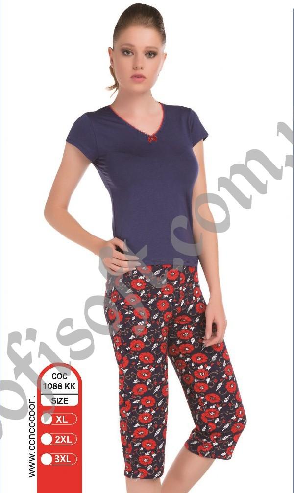 Пижама женская капри Cocoon 1088 KK