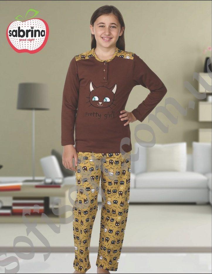 Пижама детская SAB.V 0509 KAHVE