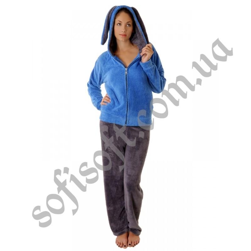 Пижама женская 1 PLAY BOY голубой