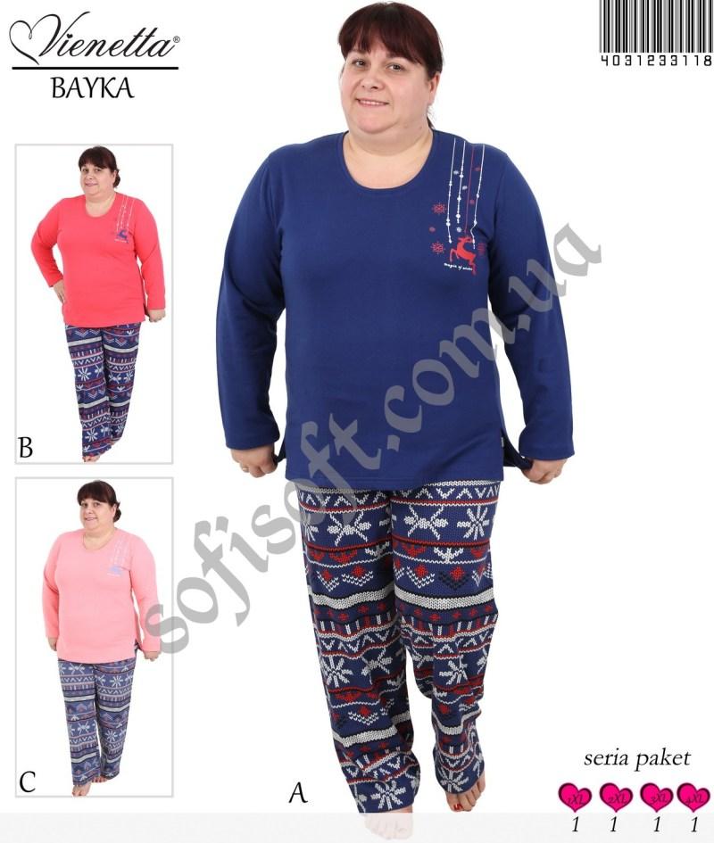 Пижама женская Байка 4031233118