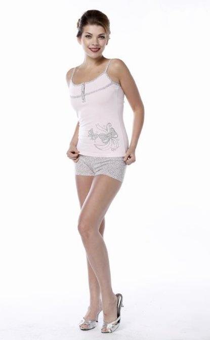 Пижама женская шорты Metin 8322