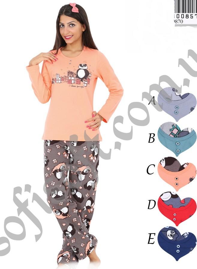 Пижама женская Байка 8680646008572