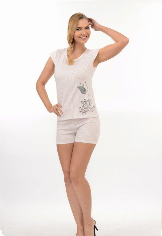 Пижама женская шорты Metin 8212