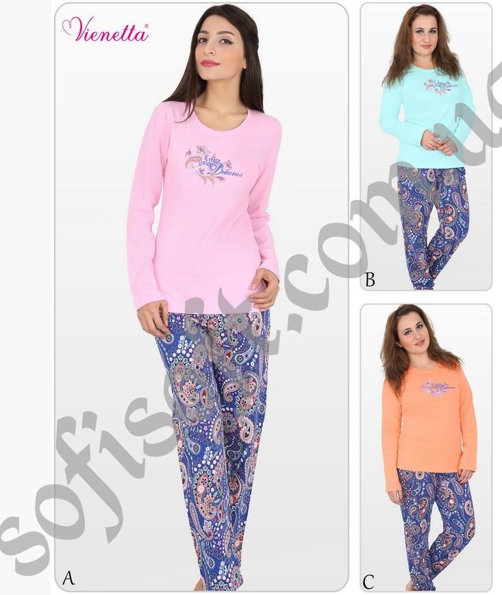 Пижама женская Байка 5100873056