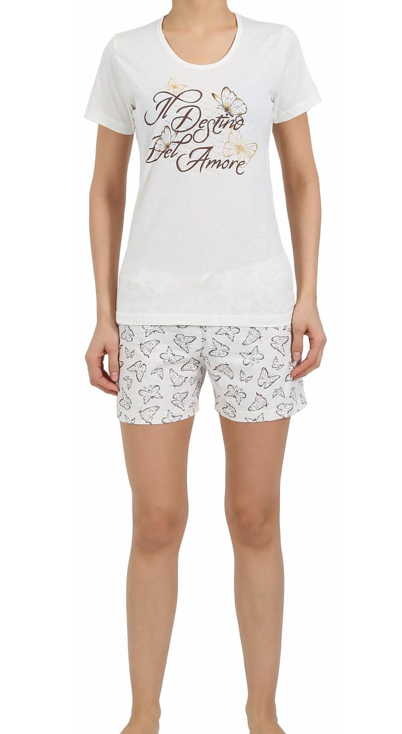 Пижама женская шорты 4122527016