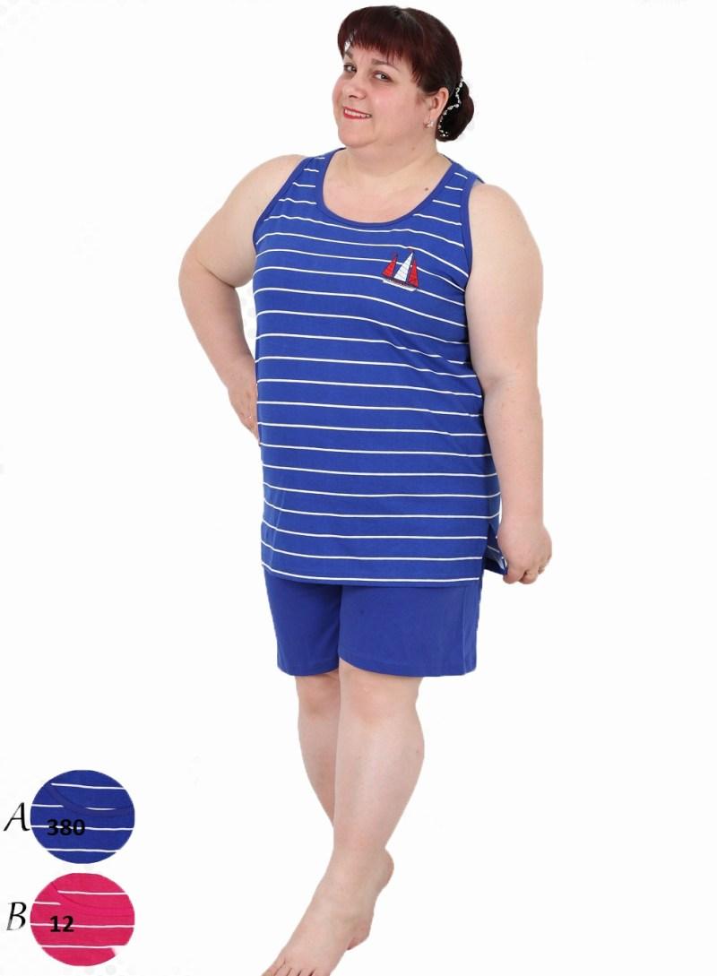 Пижама женская шорты 4010134309