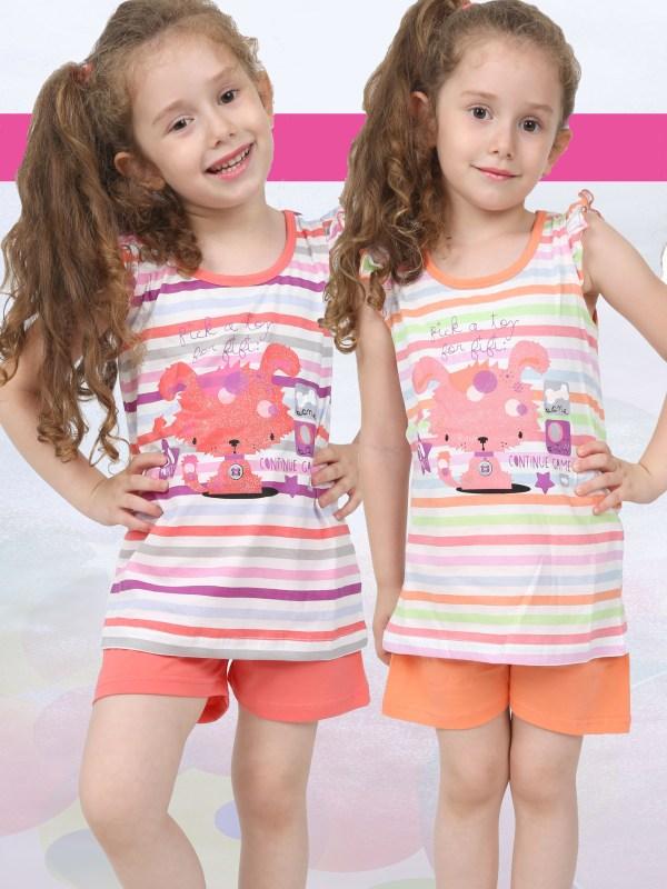 Пижама детская шорты 4082564739