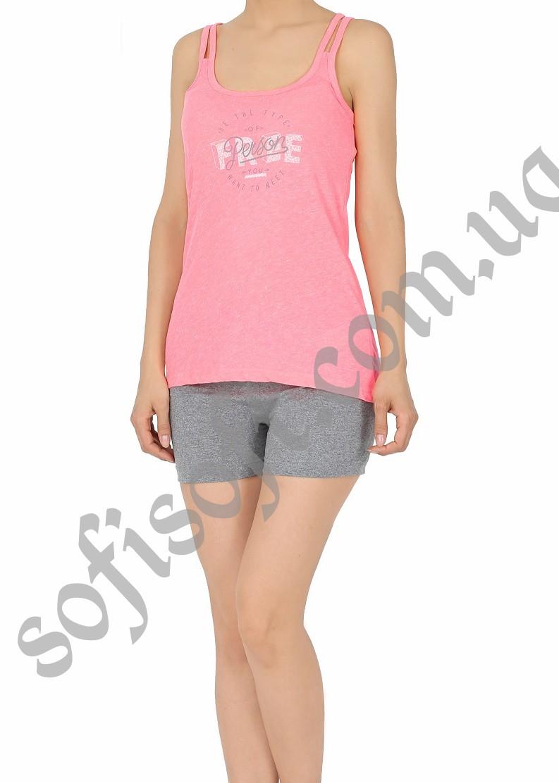 Пижама женская шорты 4081805021