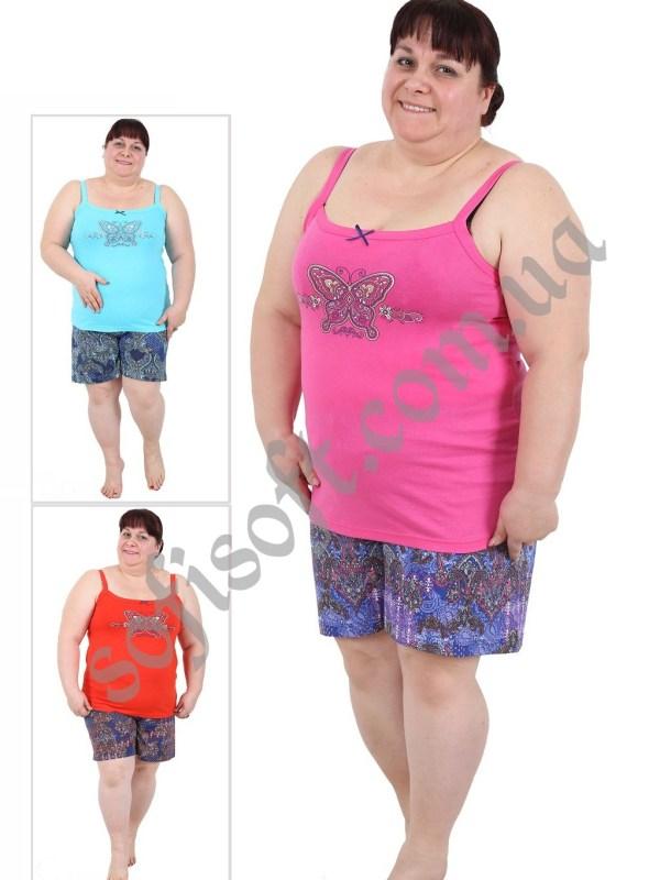 Пижама женская шорты 4091104013