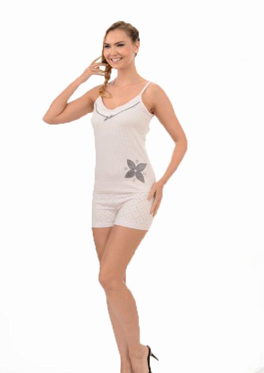 Пижама женская шорты Metin 8210