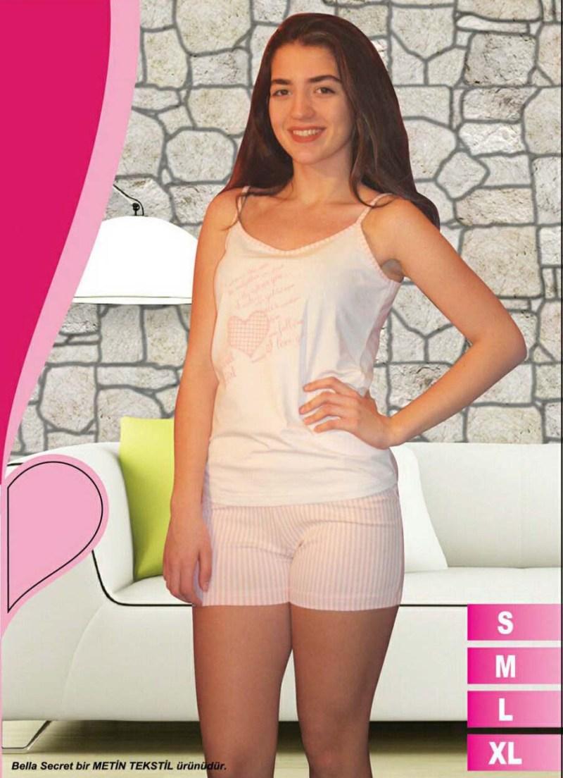 Пижама женская шорты Metin 8588