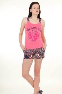 Пижама женская шорты Nicoletta 80593