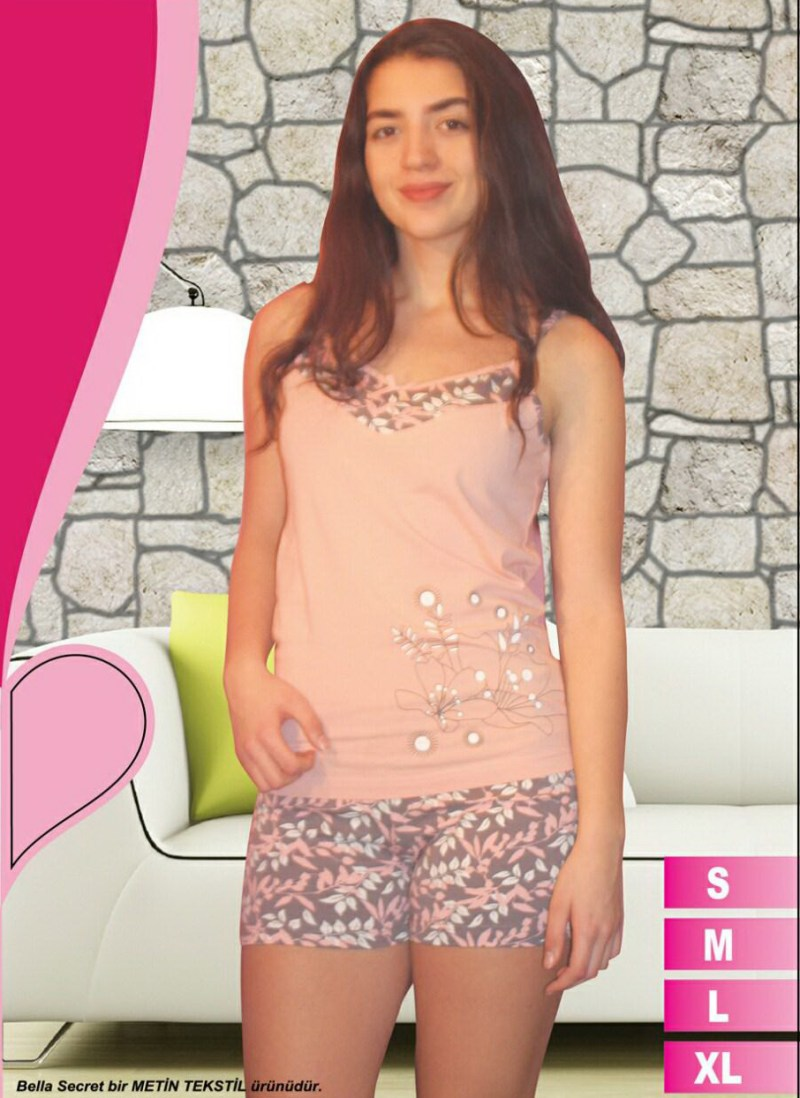 Пижама женская шорты Metin 8568