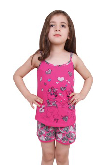 Пижама детская шорты NIC 85178