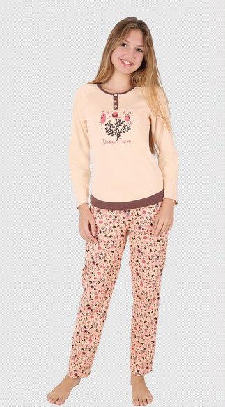 Пижама женская брюки 5060843234