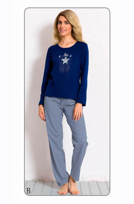 Пижама женская брюки 6040772112