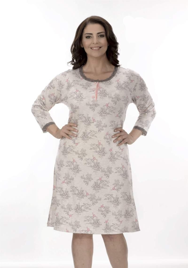 Ночная рубашка Metin 6993