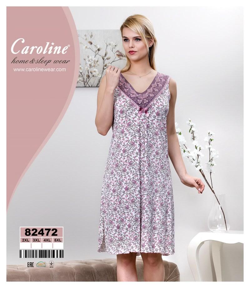 Ночная рубашка без рукава Caroline 82472
