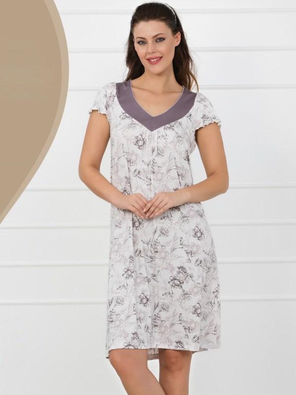 Ночная рубашка короткий рукав Caroline 86410