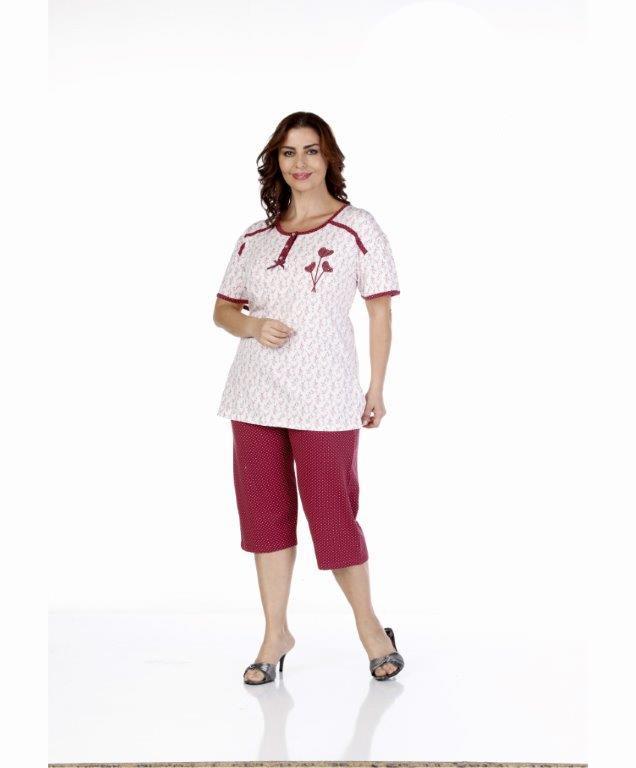 Пижама женская капри Metin 9205