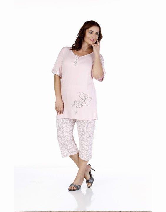 Пижама женская капри Metin 9207