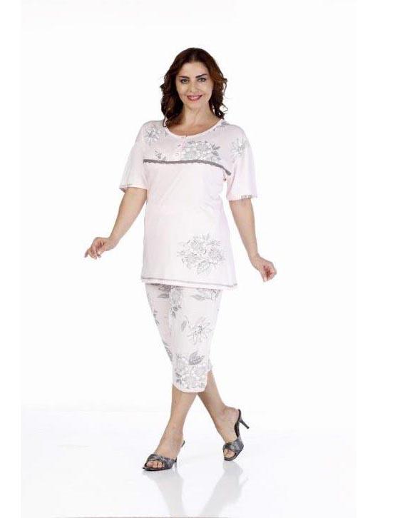 Пижама женская капри Metin 9229