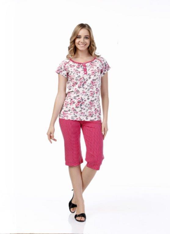 Пижама женская капри Metin 9976