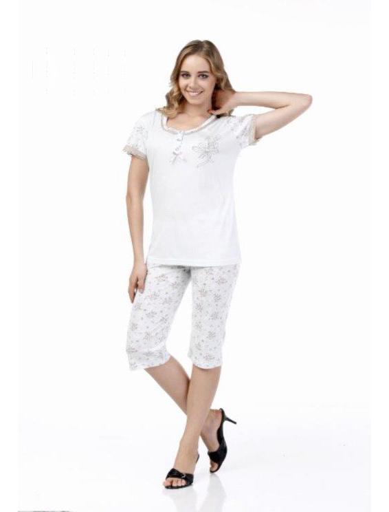 Пижама женская капри Metin 9980