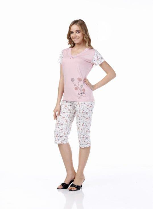 Пижама женская капри Metin 9982