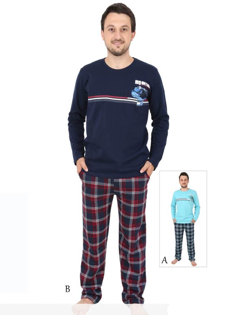 Пижама мужская Байка 4041143072