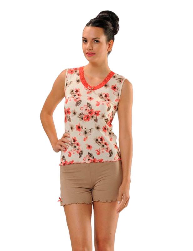 Пижама женская шорты Cocoon 1059 GAST