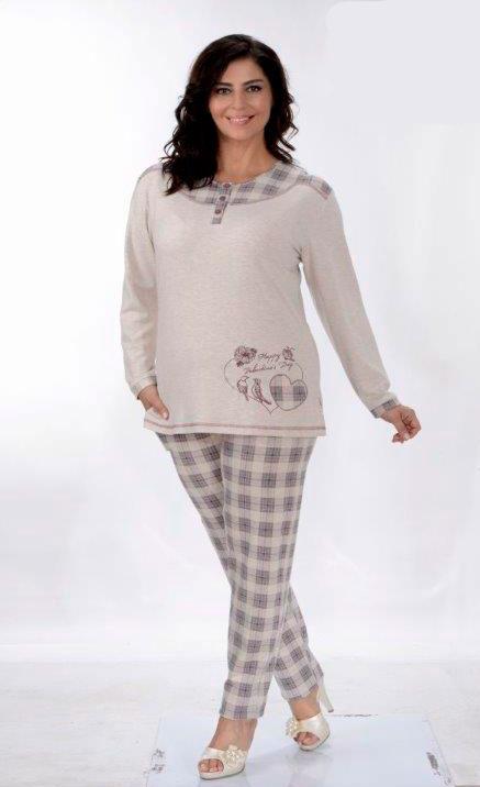 Пижама женская брюки Metin 5757