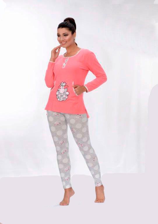 Пижама женская лосины Metin 5798