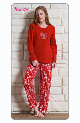 Пижама женская Флис 6060302797