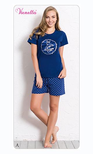 Пижама женская шорты 6070540349