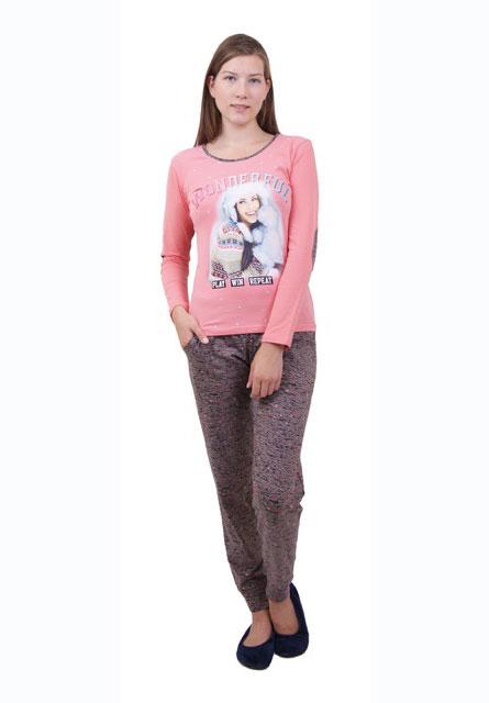 Пижама женская брюки 86711