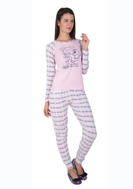 Пижама женская брюки 86742