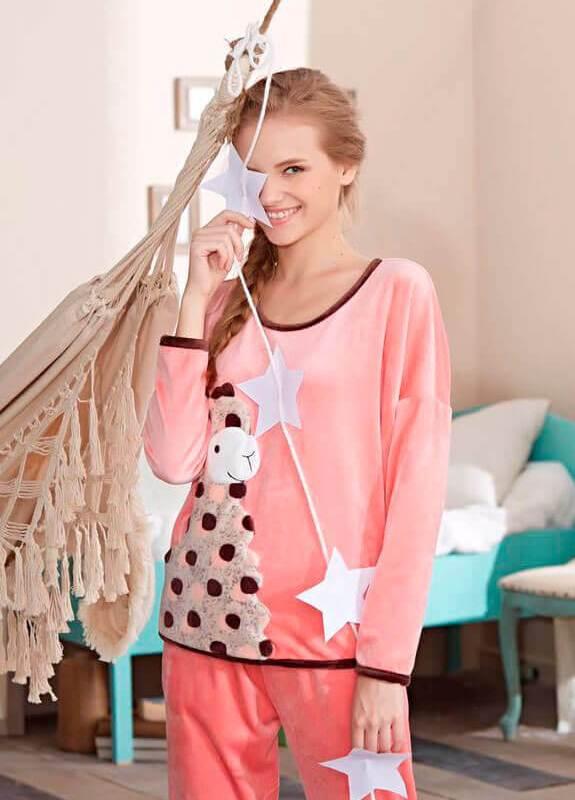 Пижама женская Jade Aubergine 661017