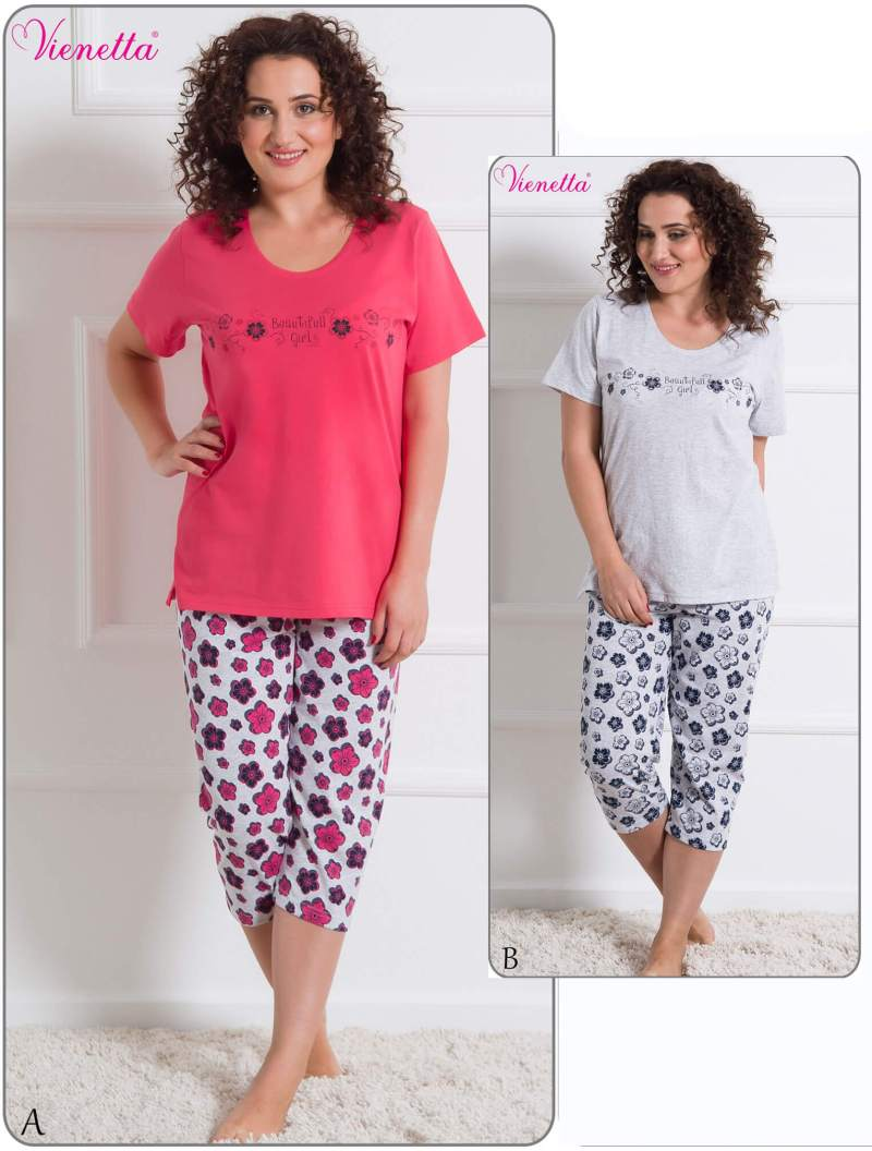 Пижама женская капри 6080724161