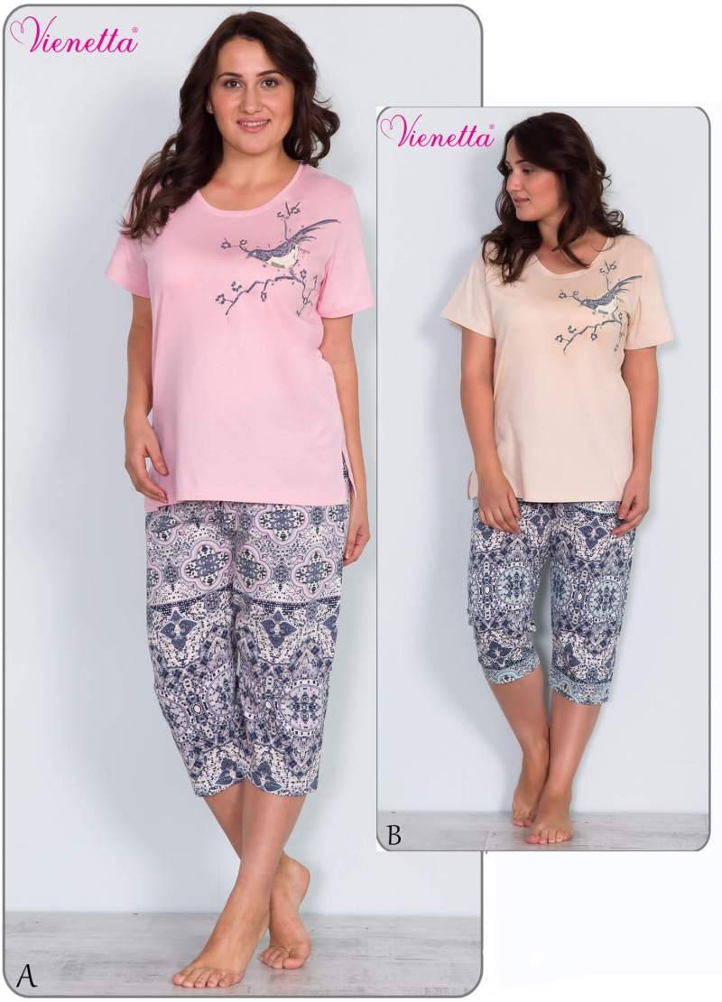 Пижама женская капри 6091438517