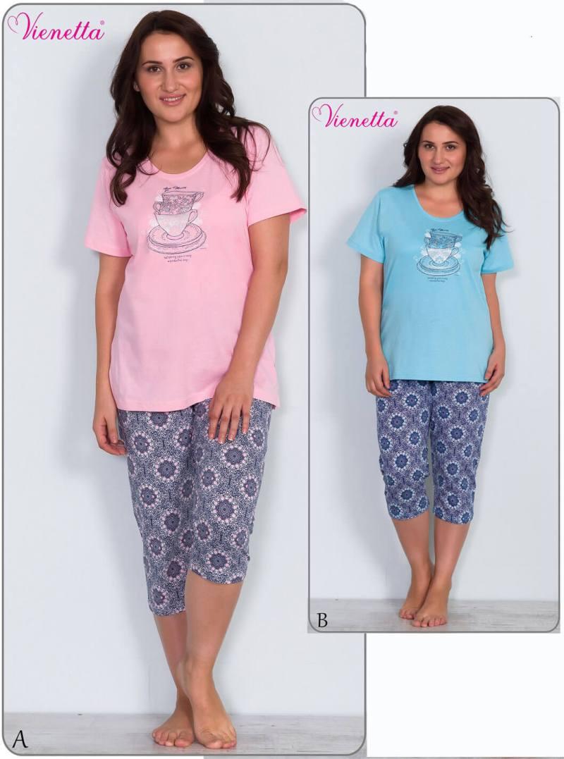 Пижама женская капри 6101832446